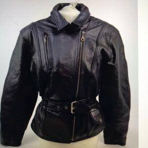 HELD Women's Leather Motorcycle Jacket